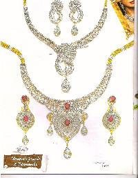 Diamond Necklace Set Manufacturer, Exporter and Supplier