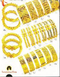 Gold Bangles 01