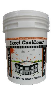 EXCEL CoolCoat Cool Roof Paint