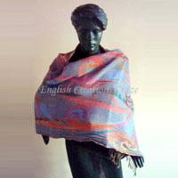 Boiled Wool Shawls - EC-2091 DM