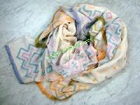 Cotton Jacquard Scarves (EC-6069)