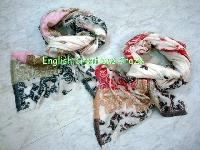 Cotton Modal Linen Jacquard Scarves (EC-6094 COLS-1)