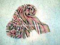 Merino Wool Stripes Scarves (EC-6723)