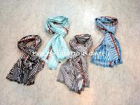 Silk Cotton Blend Scarves (EC-4414)