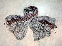 Silk Jacquard Scarf (EC-3591)