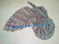 Wool Cotton Polyester Jacquard Scarves (EC-6418 F-2-1)