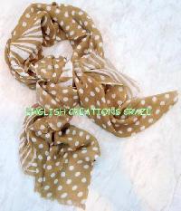 Wool Viscose Woven Scarves (EC-3443)