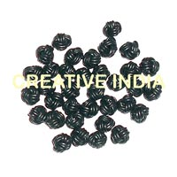 Leather Braided Bead (RCR02)