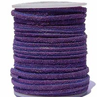 Light Violet Suede Leather Cord