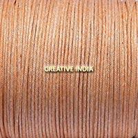 Metallic Color Wax Cotton Cords