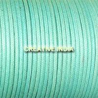 Regular Colour Wax Cotton Cord (128 Pacific)
