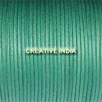 Regular Colour Wax Cotton Cord (147 Leaf Green)