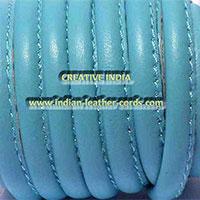 Stitched Round Nappa Leather Cord 02