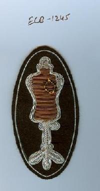 Bullion Wire Badge (ECB -1245)