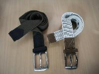 Canvas Webbing Belt 01