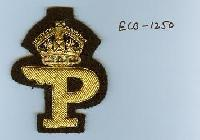 Embroidered Logo Badge (ECB-1250)