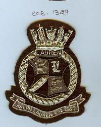 Embroidered Logo Badge (ECB-1329)