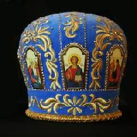 Embroidered Mitre 06