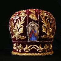 Embroidered Mitre 07