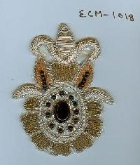 Embroidered Motif (ECM-1018)