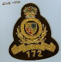 Military Wire Badge (ECB-1130)