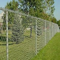 Galvanized Fence