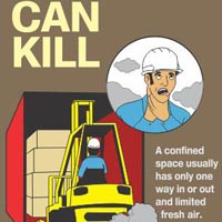 Forklift Safety Sign (FL03)