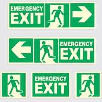 Glow In Dark Safety Sign 02