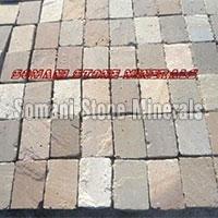 Multi Color Sandstone Cobbles 01