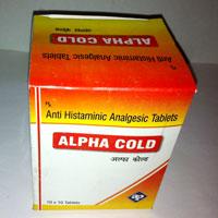 Paracetamol + Caffeine + CPM + Phenylephrine Tablets