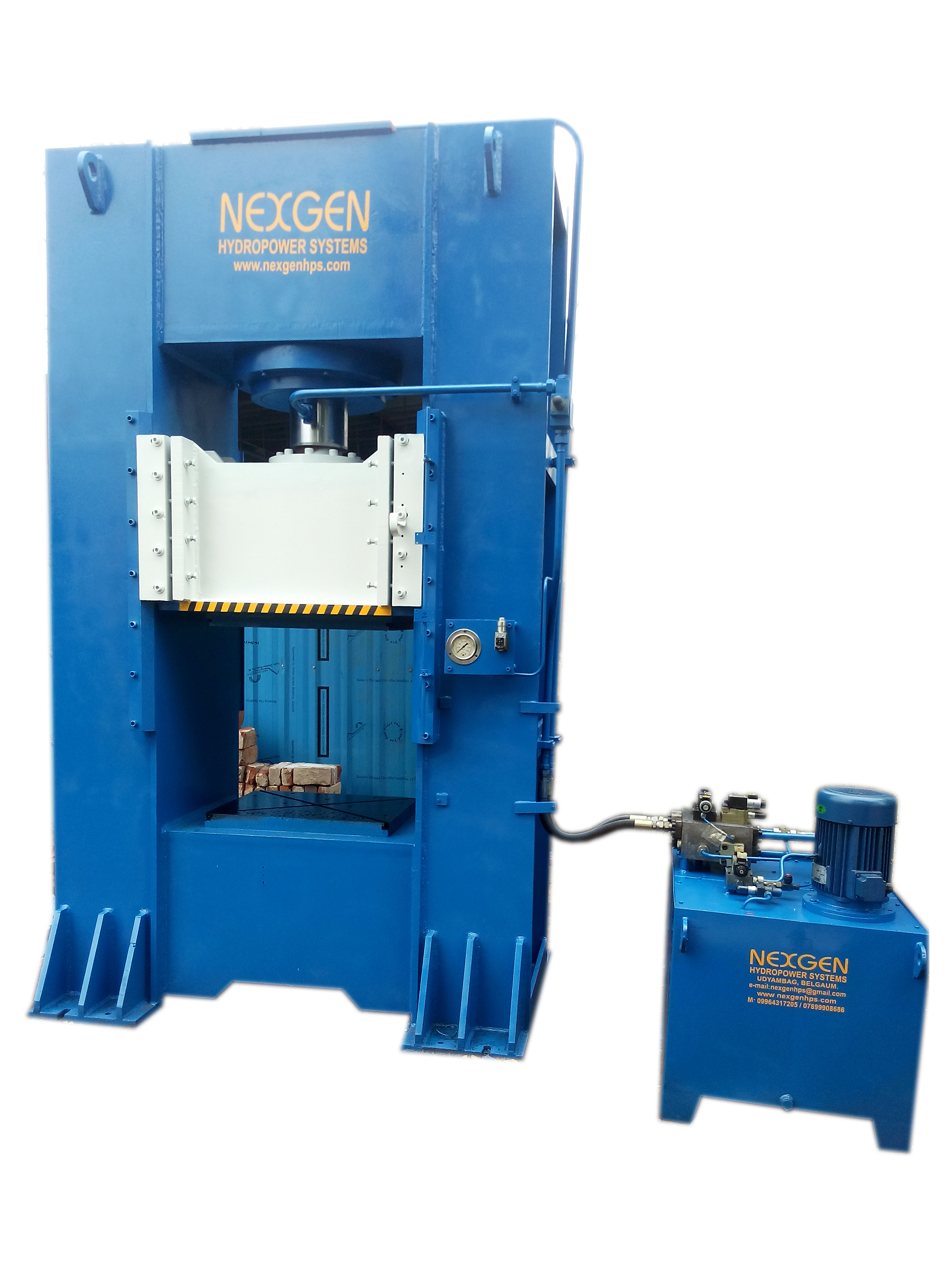 Hydraulic Closed Frame Press 500 Ton