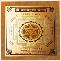 Coloured  Brass Yantra