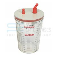 1500 Ml PC Suction Jar with Lid
