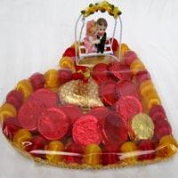 Valentine's Day Chocolate Gift Basket