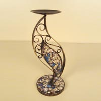 Mosaic Candle Holder (IR7002CDL)