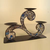 Mosaic Candle Holder (IR7003CDL)