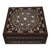 Wooden Jewellery Box (WD00703JB)