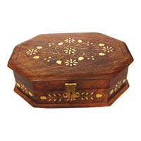 Wooden Jewellery Box (WD00705JB)