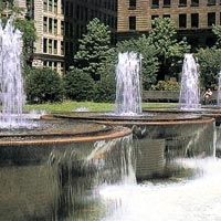 Water Fountain Landscaping