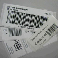 Barcode Printed Sticker (04)