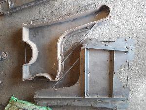 Cement Garden Bench 04