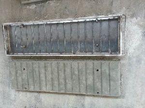 Cement Garden Bench 09