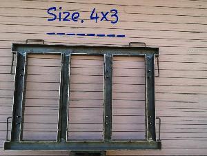 Iron Window Frame 02