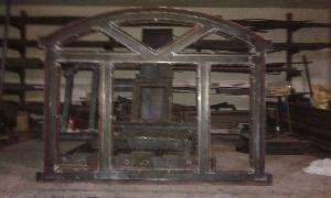 Iron Window Frame 05