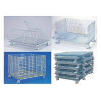 Foldable Storage Cage