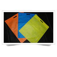 D Cut Non Woven Carry Bags