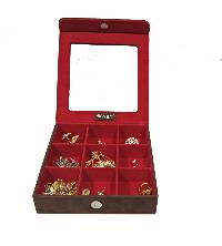 Cufflink Cases=>Cufflink Case (CF-77-Brown (2))