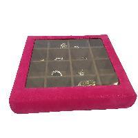 Cufflink Cases=>Cufflink Case (CF-80-Pink)