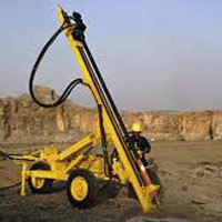 Wagon Drilling Machine