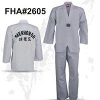 Taekwondo uniform white FHA-2605